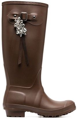 Dorothee Schumacher Embellished Rain Boots