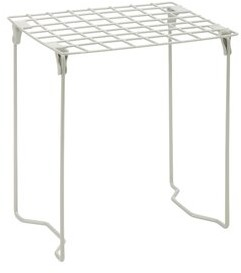 Honey-Can-Do Locker Shelf Finish: Silver