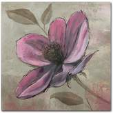 "Trademark Fine Art ""Plum Floral III"" Canvas Wall Art"
