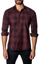 Jared Lang Cotton Check Sportshirt