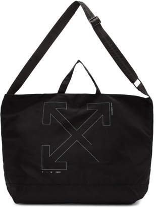 Off-White Off White Black Unfinished Arrows Tote