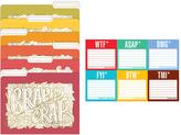 Knock Knock Honest Acronym Sticky Note Packet & Pretty Crappy File Folders