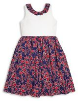 Oscar de la Renta Toddler's, Little Girl's & Girl's Graphic Floral Dress
