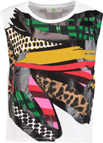Stella McCartney Printed cotton-jersey tank