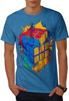 Cube Game Colour Twist Men NEW XXXL T-shirt | Wellcoda