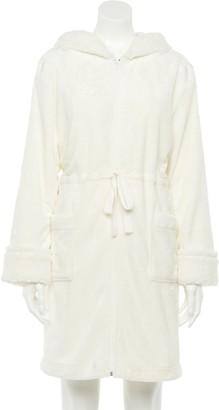 Sonoma Goods For Life Women's Zip-Front Plush Short Robe
