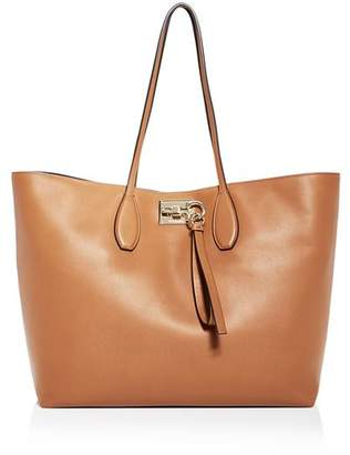 Salvatore Ferragamo The Studio Medium Leather Tote