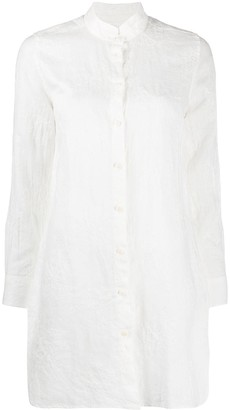 MC2 Saint Barth Embroidered Loose Fit Shirt