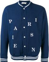 MAISON KITSUNÉ Parisien bomber jacket - men - Cotton - L