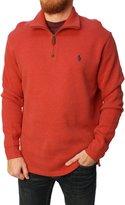 Polo Ralph Lauren Men' Half Zip Mock Turtleneckweater-mall