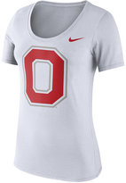 Nike Women's Ohio State Buckeyes Cotton Logo T-Shirt