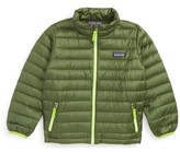 Patagonia Boy's Water Repellent 600-Fill Power Down Sweater Jacket
