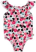Kate Spade Girls' Blooming Floral Swimsuit