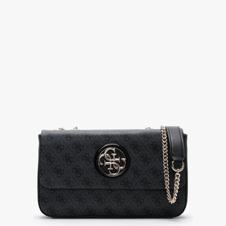 GUESS Open Road Grey Repeat Logo Cross-Body Bag