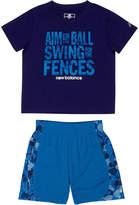 New Balance Boys' 2Pc Short & T-Shirt Set