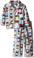 Thomas & Friends Thomas the Train Little Boys' Steam Engine Racers 2-Piece Pajama Coat Set