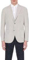 SLOWEAR Single-breasted linen and cotton-blend blazer