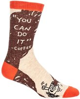 Blue Q You Can Do It - Coffee Humorous Mens Crew Socks