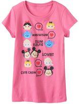 "Disney Disney's Tsum Tsum Alice, Minnie Mouse & Mickey Mouse ""#Instatsum"" Tee"