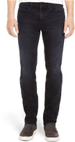 Kenneth Cole Reaction Straight-Leg Dark-Wash Stretch-Denim Jeans