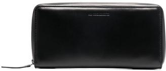 Ann Demeulemeester Zip-Around Leather Wallet