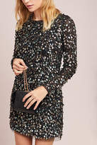Anthropologie ML Monique Lhullier Beaded Shift Dress