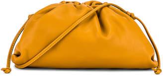Bottega Veneta The Pouch 20 Clutch Bag in Ocra & Gold | FWRD