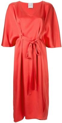 Ingie Paris Tie Detail Dress
