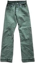 Levi's Green Denim - Jeans Jeans for Women Vintage