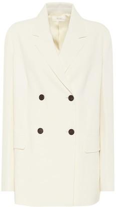 The Row Stretch-crepe blazer