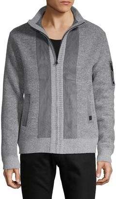 Buffalo David Bitton Textured Full-Zip Jacket