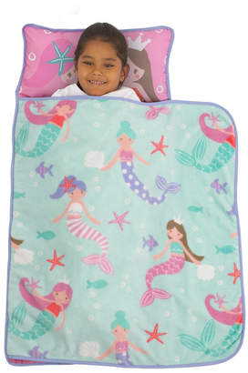 Everything Kids Mermaid Nap Mat with Pillow and Blanket Bedding