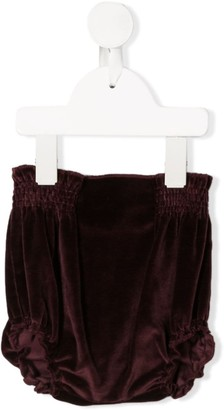 Douuod Kids Velvet Bloomer Shorts