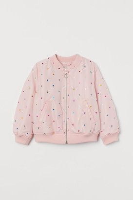 H&M Padded Bomber Jacket - Pink