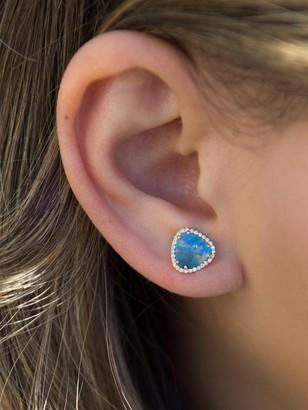 Anne Sisteron Opal Diamond Heavenly Stud Earring