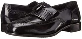 Florsheim Lexington Wingtip Tassel Slip-On (Black) Men's Slip-on Dress Shoes