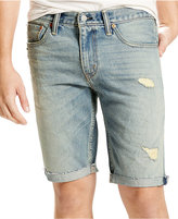 Levi's Men's 511 Slim-Fit Beverly Glen Cutoff Ripped Jean Shorts