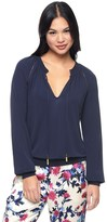 Juicy Couture Regal Matte Jersey Top