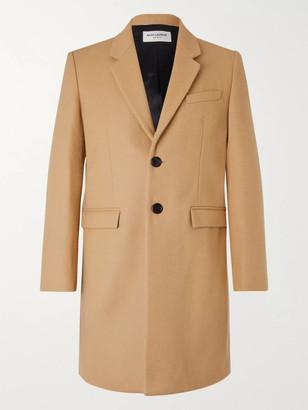 Saint Laurent Slim-Fit Wool Overcoat