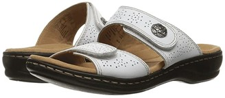 Clarks Leisa Lacole (White Leather) Women's Sandals