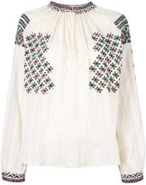 Vanessa Bruno embroidered blouse