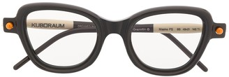 Kuboraum P5 cat eye glasses
