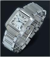 Cartier Cartier Pre-Owned Gents Tank Francaise Steel Watch. Silver Dial. Ref 2302