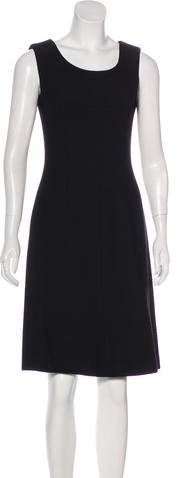Dolce & Gabbana Wool Knee-Length Dress