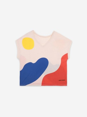 Bobo Choses Short Sleeve Landscape T Shirt - L
