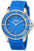 Versus By Versace Women's SGM040013 Tokyo Stainless Steel Light Blue Dial Luminous Hands Watch