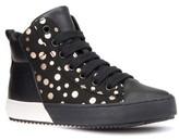 Geox Toddler Girl's Kalispera Girl Dotted High Top Sneaker