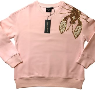 Laines London Pink Pearl & Gold Lobster Lounge Set