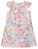 Halabaloo Glitter Jacquard Floral Dress