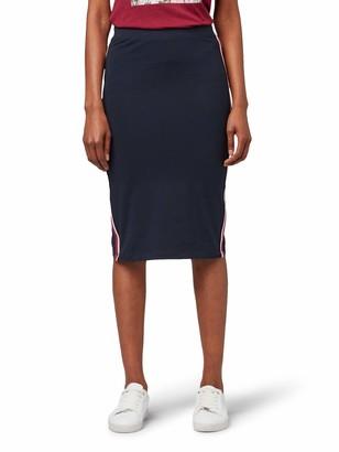 Tom Tailor Casual Women's Sportlicher Midi Skirt